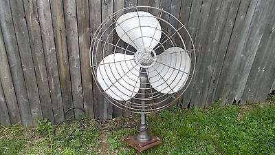 VINTAGE art deco emerson electric k60 TC industrial floor HANGING FAN !!