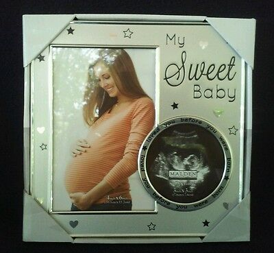 MALDEN * My Sweet Baby Picture Frame Ultrasound Photo * NEW!