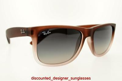 7adde4e21 Ray-Ban Justin Rb 4165 855/8G 8558G 54Mm Brown Frame With Gray Gradient