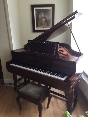 RARE Broadwood 1925 Grand Piano with Ampico player mechanism - perfect condition