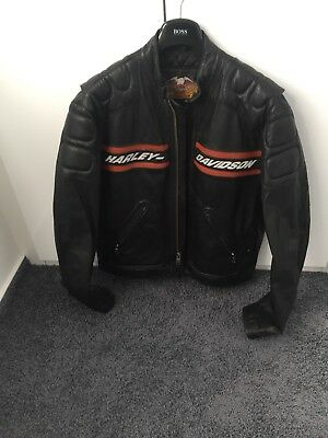 harley davidson heritage bomber jacke gr e m eur. Black Bedroom Furniture Sets. Home Design Ideas