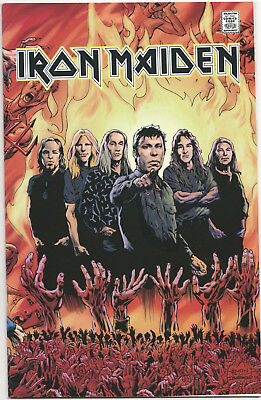 Rock and Roll Biographies Iron Maiden #1 VF/NM 2016 Comics Acme Press music