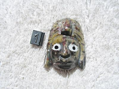 Mayan Soapstone Mask   New. Read Before Buy