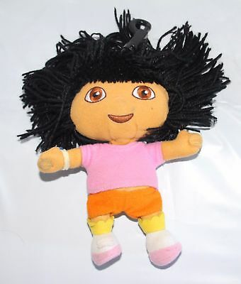Dora the Explorer Key Chain Plush or Backpack clip on - 7 inch tall AWESOME