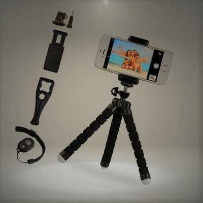 Octopus Style Portable and Adjustable Tripod Stand Holder for iPhone, Android Ph