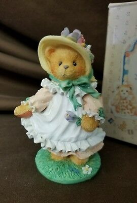NIB Cherished Teddies Hope Our Love Is Ever-Blooming 1994 103764