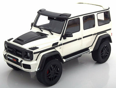 GT Spirit 2016 Mercedes Benz Brabus 500 4x4  White LE of 504 1/18 Scale New!