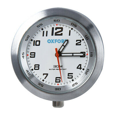 Motorcycle Motorbike Scooter Unique Designed Analogue 30m Water Resistant Clock