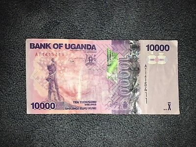 UGANDA 🇺🇬 10000 Shillings Banknote 2013 World Money, Foreign Currency