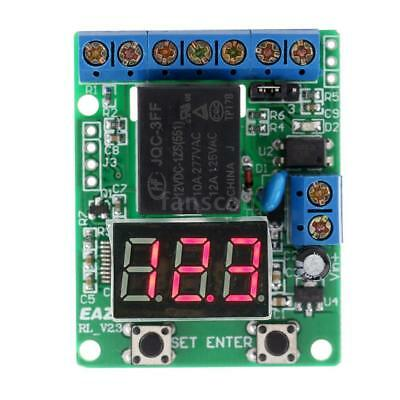 DC 12V Voltage Detection Relay Switch Control Module Digital LED Display UK S3Y1