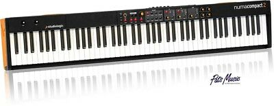 Studiologic Numa Compact 2 MIDI Keyboard Now in stock at Pats Music. Free P&H