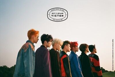 VICTON [FROM. VICTON] 4th Mini Album CD+POSTER+2ea Photo Book+Card K-POP SEALED