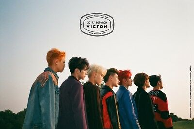 VICTON [FROM. VICTON] 4th Mini Album CD+POSTER+2ea Photobook+Card K-POP SEALED