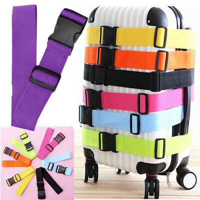 Hot Sale Travel Luggage Packing Belt Suitcase Strap Backpack Bag Strap PURPLE