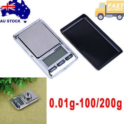 200g/100g/0.01 Digital Pocket Scales Jewelry Gold Electronic milligram micro mg