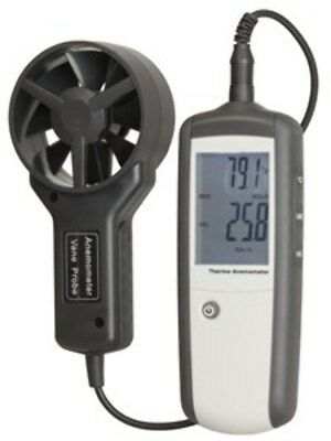 Hand-held Anemometer with Separate Sensor