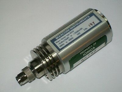 IFR MARCONI AEROFLEX 6934 power sensor -15 +30 dbm 40 ghz 2.92mm K connector