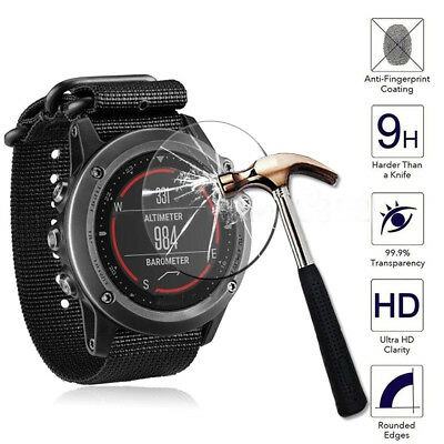 For Garmin Fenix 5 Watch Film Guard Transparent Tempered Glass Screen Protector