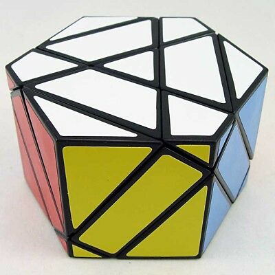 Z Cube Helicopter Magic Cube Curvy Copter Twist Puzzle Education Toy Black