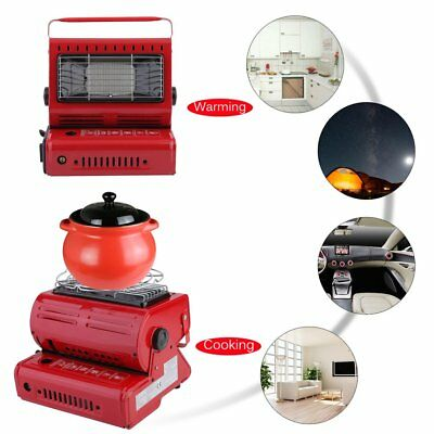 Portable Butane Gas Heater Camping Camp Tent Hiking Outdoor Camper Survival WO