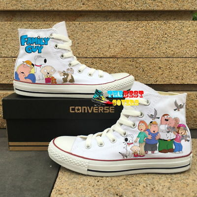 CONVERSE ALL STAR FAMILY GUY cartoon TV series hand painted