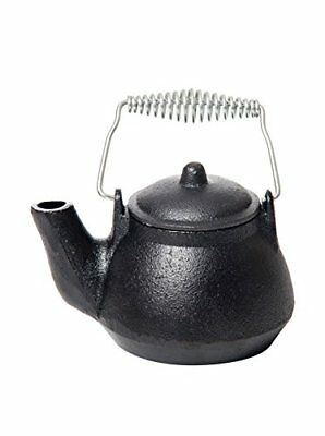 Black Vintage Wood Stove Cast Iron Kettle Humidifier Pot Steamer Fireplace Tea W