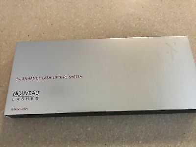 Nouveau Lvl Enhance Lash Lifting Full Kit up to 15 Treatments New and boxed