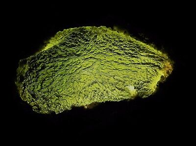 Huge 44.2g Moldavite Direct Czech (Č.Budějovice-Chlum) Meteorite Natural Tektite