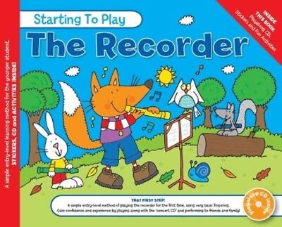 3  or 1 Books Starting To Play The Recorder Keyboard Guitar Book with CD