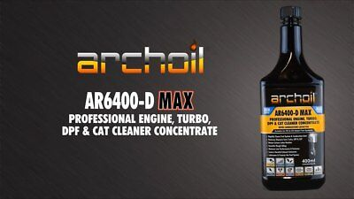 Archoil AR6400-D MAX Pro Diesel Engine, Turbo DPF Cleaner 400ml High Performance