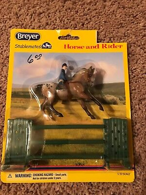 Bryers Stablemate, Horse and Rider, New, Free Shipping
