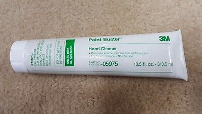3M 05975 Paint Buster/Hand Cleaner 10.5 U.S. fl 0z (310.5 ml) (Qty. 1 ) NEW OEM