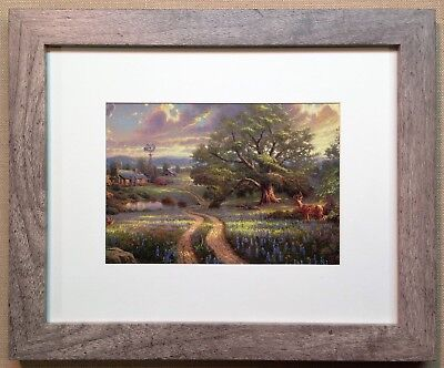 """Thomas Kinkade Framed Open Edition """"Country Living"""" - NEW"""