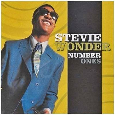 STEVIE WONDER Number Ones >  NEW SEALED CLASSIC SOUL / MOTOWN CD  R&B - HITS 1'S