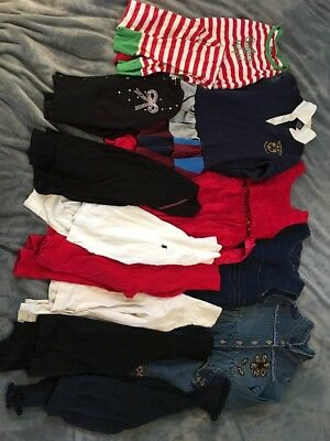 Girls Size 6 6X Mixed 12pc Lot Fall Clothes VGUC Polo, Oshkosh, etc.
