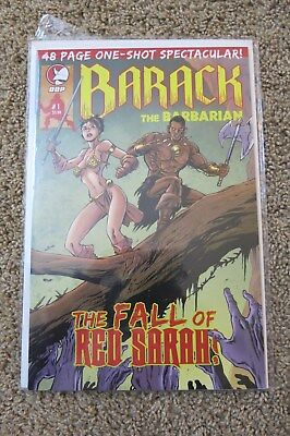 Barack The Barbarian The Fall Of Red Sarah 48 Page One-Shot Ddp Comics Very Rare
