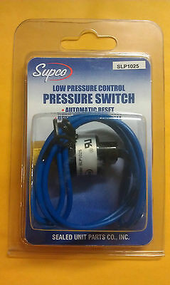 PRESSURE SWITCH Low Auto Reset Open:10 Close: 25