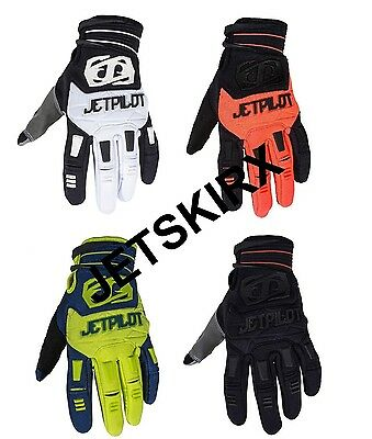 Jet Pilot 2017 Matrix Race Full Finger Gloves Rubberized Pro-Grip Yamaha Jetski