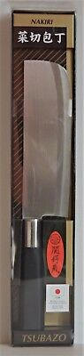 """Kitchen Knife Chef's Nakiri 11.5"""" Cutting Chopping Vegetable Made by Japan"""