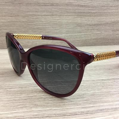 ec363cdc4a Gucci GG 3692 S GG3692 S Sunglasses Opal Red Gold Plated 3JAHD Authentic  57mm