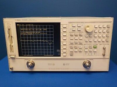 Agilent 8722ES w/ 007/010/089 Network Analyzer, 50 MHz to 40 GHz
