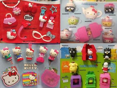 Mcdonalds 2018 & 2015 HELLO KITTY & 2016 & 2017 HELLO SANRIO - Pick your toy
