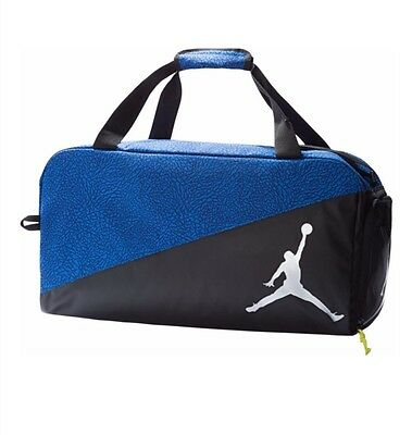 Nike Air Jordan Duffel Gym Bag Basketball Tote Duffle Boys Girls Black f7b530bccb16a