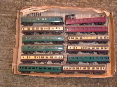 Triang Tt Gauge 12 Carriages Coaches All Used Needing Attention Vintage