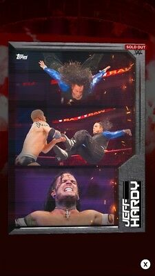 WWE Slam Topps Digital — Jeff Hardy Triptychs