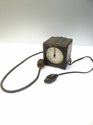 Vintage Standard Electric Time Co S10 6rpm Precision Timer Stopwatch Clock
