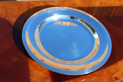 Christofle Atlante Silver Plated Small Service Platter / Bowl