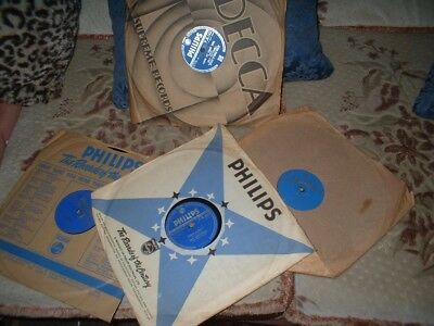 78Rpm Records By Guy Mitchell-Set Of Four
