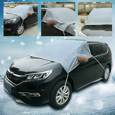 Winter Car Windshield Cover Sun/Snow Frost Ice Cotton Window Mirror Protector