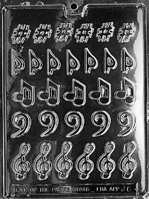 Life of the Party Musical Notes & Symbols Chocolate Mold | Candy